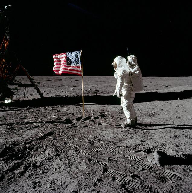 USA Flag Moon (Sociedad del Desfase)